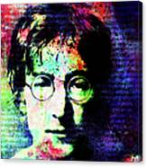 Imagination Of A Song Man Canvas Print
