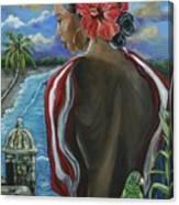 Imagines Boricuas Canvas Print