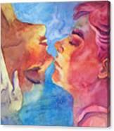 Imaicab Baciami Canvas Print