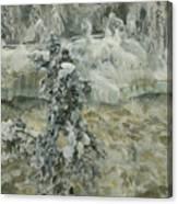 Imatra In Wintertime Canvas Print