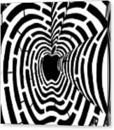 iMaze Apple Ad Maze Idea Canvas Print