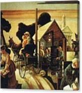 img605 Thomas Hart Benton Canvas Print