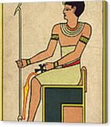 Imhotep, Egyptian Polymath Canvas Print