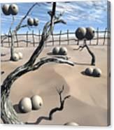 Imm Plants Canvas Print