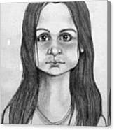 Immigrant Girl Canvas Print