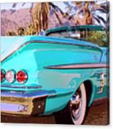 Impala Convertible Canvas Print