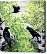Imparting Wisdom Canvas Print