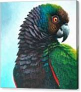 Imperial Parrot Canvas Print