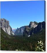 Imposing Alpine World - Yosemite Valley Canvas Print