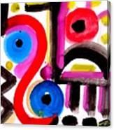 Impression #50 Canvas Print