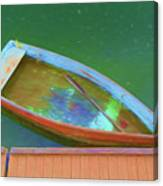 Impression Of A Dinghy Canvas Print
