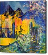 Impression Of Spring Canvas Print