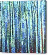 Impression Of Trees Canvas Print