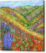 Impressionism- Flowers- Dreaming Of Spring Canvas Print