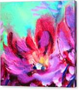 Impressionism Flowers Canvas Print