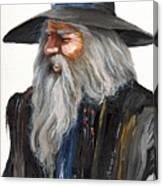 Impressionist Wizard Canvas Print
