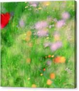 Impressionistic Blossom 5 At Britain Park Canvas Print