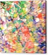 Impressionistic Floral Fantasy  Canvas Print