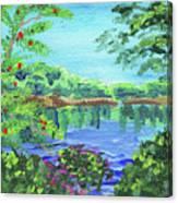 Impressionistic Landscape Xx Canvas Print