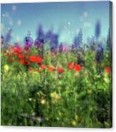 Impressionistic Springtime Canvas Print