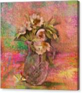 Impressionistic Still Life  Canvas Print