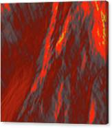 Impressions Of A Burning Forest 6 Canvas Print