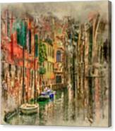 Impressions Of Venice Canvas Print