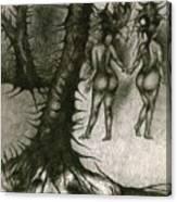 In Concealment Canvas Print