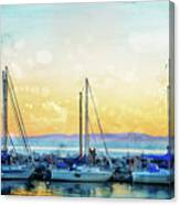 In For The Night Canvas Print