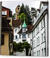In Lucerne  Canvas Print