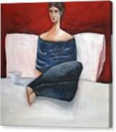 In My Bed Canvas Print