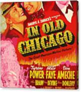 In Old Chicago 1937 Canvas Print