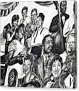 In Praise Of Jazz IIi Canvas Print