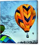 In Take Off Mode Canvas Print
