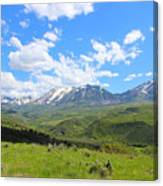 In The Back Country 2 Canvas Print