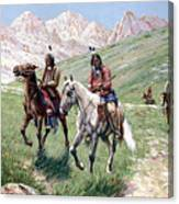 In The Cheyenne Country Canvas Print
