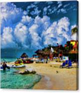 In The Cloud Canvas Print