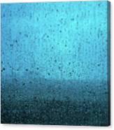 In The Dark Blue Rain Canvas Print