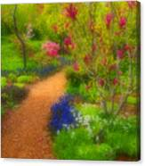 In The Gardens Canvas Print
