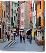 In The Heart Of Town Canvas Print