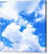 In The Heavens Above Canvas Print