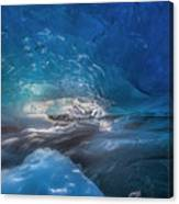 In The Ice Canvas Print