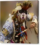 Pow Wow In The Moment Canvas Print