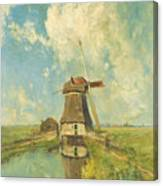 In The Month Of July Canvas Print