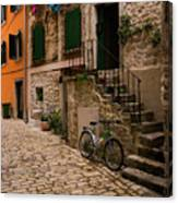 In The Old Town Canvas Print