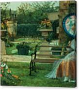 In The Plesaunce Canvas Print