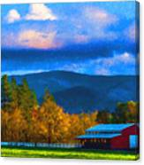 In The Rogue Valley Canvas Print