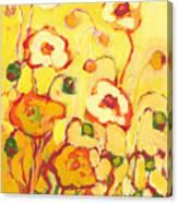 In The Summer Sun Canvas Print