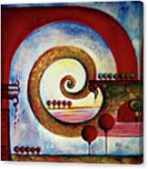 In The World Of Balance Canvas Print