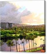 In Waikiki  Canvas Print